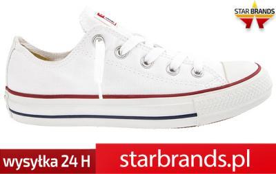 Damskie białe trampki Converse M7652 36 37 38 39