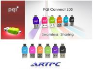 PQI Connect 203 Adapter MicroSd Kolory