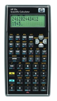 HP  35s Scientific Calculator F2215AA  kalkulator