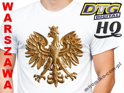 f7d822d1a Koszulka patriotyczna narodowa z orłem dla kibica - 5641267408 ...