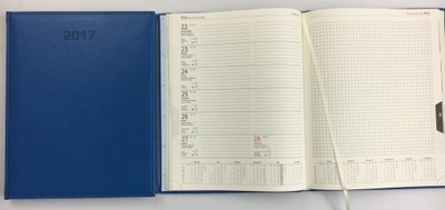 A4 Tygodniowy Kalendarz Ksiazkowy 2017 Z Notesem 6760579409 Oficjalne Archiwum Allegro