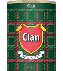 Tytoń fajkowy -  CLAN AROMATIC 50 g.