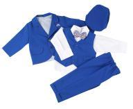 Śliczny, modny garniturek dla chłopca 80 komplet