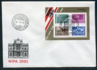 Węgry Michel nr: blok 150 a FDC