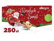 Karta Podarunkowa Boże Narodzenie - 250 zł