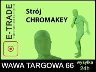 LStrój GreenScreen ChromaKey niewidzialny człowiek