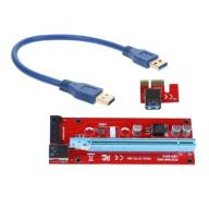 PCI Express PCI-E 1x do 16x Riser Karta USB 3.0