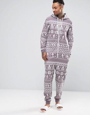 fa324185a88e27 ASOS piżama KOMBINEZON PRINT KAPTUR S - 6679302215 - oficjalne ...