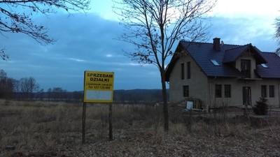 Sprzedam 2 działki budowlane niedaleko jeziora