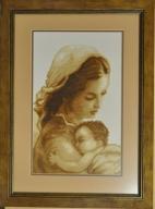 Obraz haft pt. Matka Boska z Dzieciątkiem
