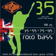 Struny ROTOSOUND RB35 Roto Bass (35-95) Nickel