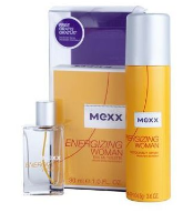 zestaw Mexx Energizing woman EDT30ml + deo 150ml