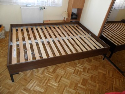 Ikea Rama łóżka 140x200 Stelaż Sultan Lade