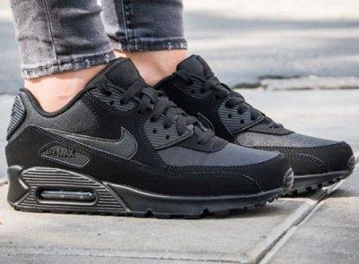 Buty Męskie Nike Air Max 90 Essential 537384 046 All Black