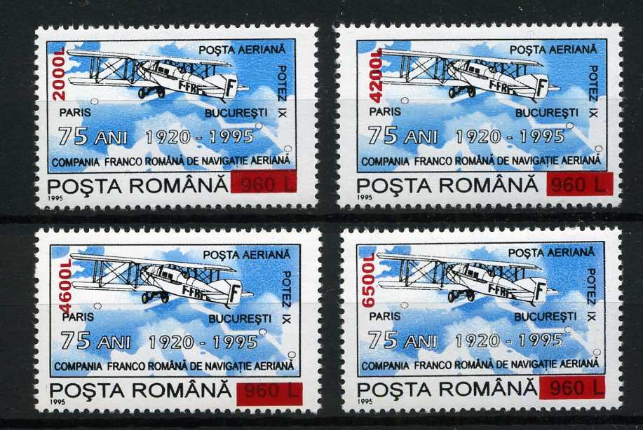 RUMUNIA 2000 r. - LOTNICTWO, SAMOLOTY **