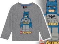 LEGO BATMAN * oryg. KOSZULKA nadruk LOGO *** 92-98