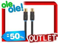 OUTLET !!! NOWY KABEL ANTENOWY TECHLINK 3,0M KUP !