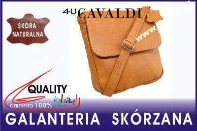 56c67dbd372e7 LISTONOSZKA torebka CAVALDI SKÓRA camel GTSP-8 - 5189955514 ...