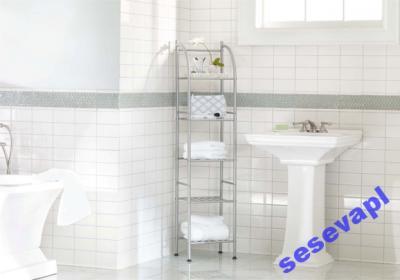 Szafka Półka łazienkowa Regał Półki łazienki 5 X