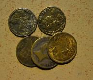 Anglia - 5 monet mało powtórek - BCM