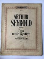 ARTHUR SEYBOLD OP. 172 VIOLINSCHULE