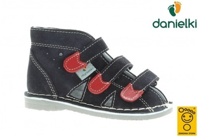 Kapcie DANIELKI buty profilaktyczne S104 gr, 24