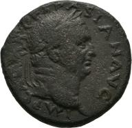 VESPASIAN Æ As (SC) of Antioch 27mm 15.12g Rare!