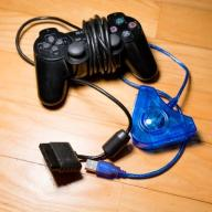 Oryginalny Pad DUALSHOCK 2 do PS2 SONY + ADAPTER