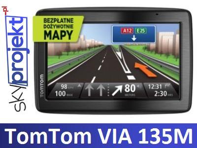 Tomtom Via 135 M Europa 5 45 Krajow Doz Mapy 3236972813 Oficjalne Archiwum Allegro