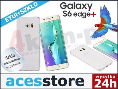 Etui SILIKONOWE Samsung Galaxy S6 Edge+ Plus SZKŁO - 5837073074 ... c93cdd5cf453