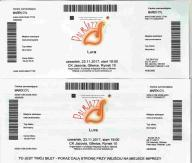 LURA - Koncert GLIWICE, 23.11.2017 - 2 bilety