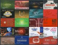 MAX - CASINO CARDS USA # KARTY KASYNO # 20 szt