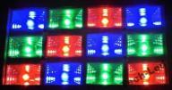 STROBOSKOP-ILUMINOFONIA 12X1WAT LED RGB W-WA