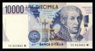Włochy 10000 lire 1984r. P-112 UNC