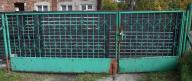 Brama ogrodzeniowa na czas budowy duża 4,2 stalowa