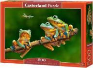! Puzzle 500 Castorland B-52301 Trzy Żabki