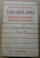 Wielki Słownik włosko-francuski i francusko-włoski