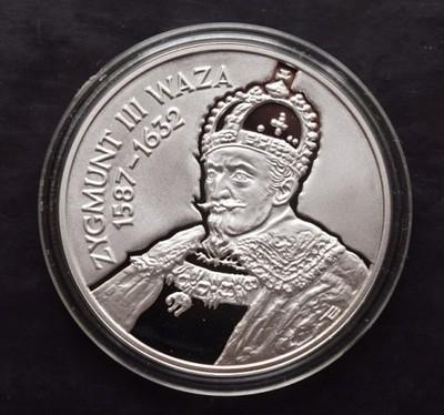 10 ZŁ ZYGMUNT III WAZA 1998 POPIERSIE - MENNICZA !