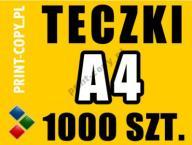 Teczki ofertowe firmowe A4 1000 szt. - EXPRESS 24h