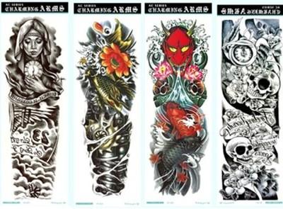 Tatuaz Rega Noga Rekaw 3d Dziara Wzory Mix 6498987597