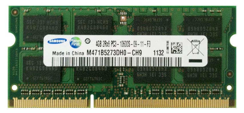 RAM SODIMM Samsung 4GB DDR3 1333MHz CL9 1.5V