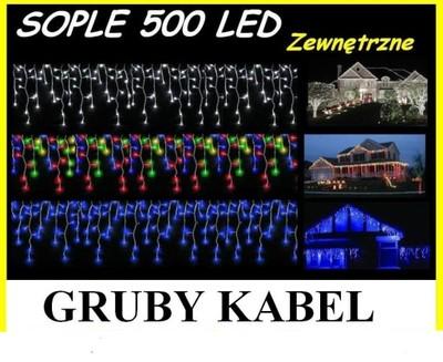 SOPLE 500 LED LAMPKI CHOINKOWE DŁ 15M ZEWNĘTRZNE   4862915677