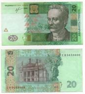 UKRAINA 2013 20 HRYVIEN