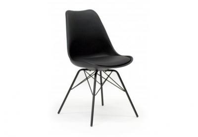 Krzesło Czarne Nogi Metalowe Czarne Ginaporgy C C 5466499761