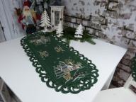 ZIK magiczny bieżnik serweta 40x85 zielony PREZENT