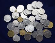 Włochy zestaw lot 50 monet LIRA LIRÓW
