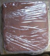 Glina do formowania,modelowa czerwona- 10kg