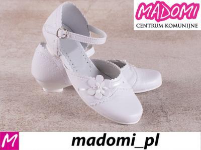 3447fb43a7 MADOMI buty dziewczęce do komunii komunijne 142 34 - 5799287069 ...