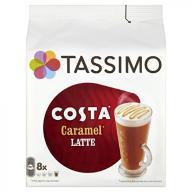 Tassimo Costa Caramel Latte 16 discs, 8 servings (