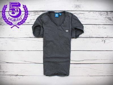bbbf1f6dbcbe61 H Adidas Originals T-shirt Męski Koszulka Szara S - 6203268493 ...